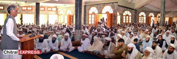 Photo of علماء سے درخواست ہے کہ وہ اسلام کے فلاحی اور عادلانہ نظام کو معاشرے میں لاگو کرنے کی کوششوں میں ہماری رہنمائی کریںوزیراعلیٰ خیبرپختونخواہ