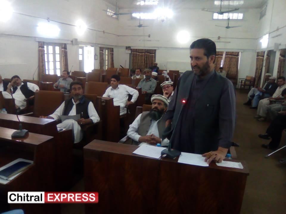 Photo of شاہی مسجد واقعہ چترالی قوم کو تقسیم کرنے کی ایک بڑی سازش تھی ۔ جسے علماء اور لوگوں نے مل کر ناکام بنایا ۔ مغفرت شاہ کا ضلع کونسل اجلاس سے خطاب