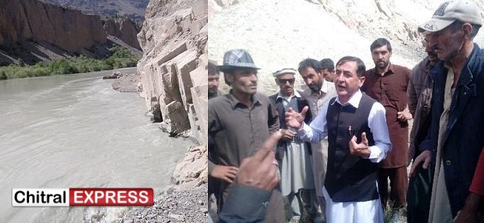 Photo of ایم پی اے سردار حسین کا سیلاب سے متاثرہ اوناوچ یارخون کا دورہ،وزیر اعلیٰ کی طرف سے روڈ کی بحالی کے لئے ایک کروڑ روپے کا اعلان